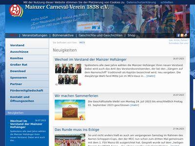 Mainzer Carneval Verein (MCV)