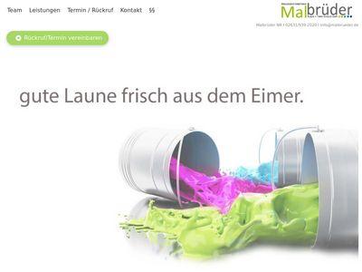 Malbrueder Klaus Timo Schulz Maler
