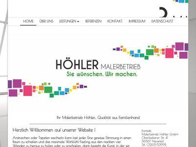 Malerbetrieb Höhler GmbH