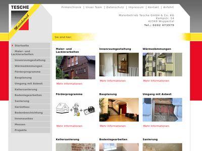 Malerbetrieb Tesche GmbH & Co. KG