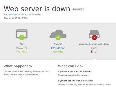 Heinz Fleiter, Malerbetrieb