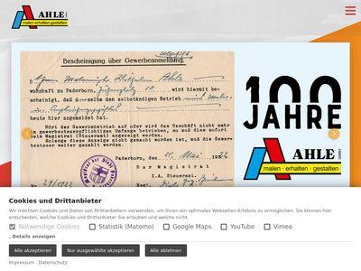 Malermeister Ahle GmbH