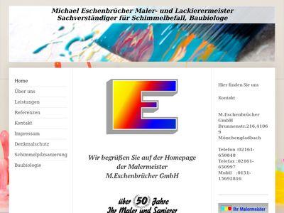 M.Eschenbrücher GmbH Die Maler und Sanierer