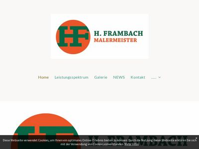 Malermeister H. Frambach