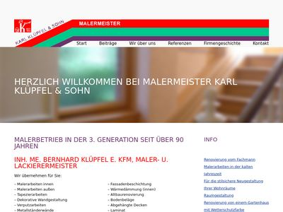 Malermeister Karl Klüpfel & Sohn