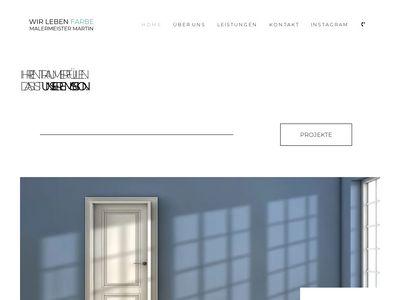 Malermeister Rolf-Dieter Martin