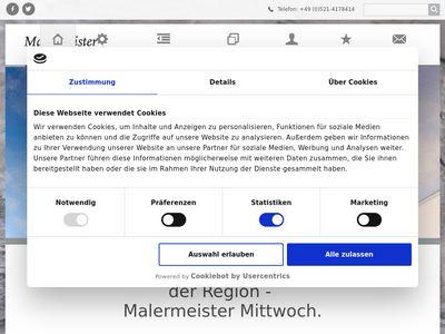 Mittwoch Markus Maler-U.lackierermeister