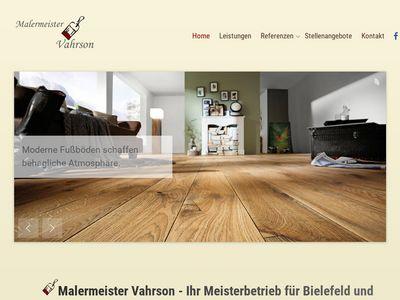 Malermeister Vahrson