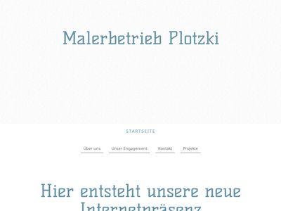 Malerbetrieb K.-H. Plotzki