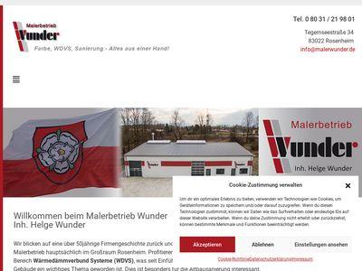 Wunder W. Malerbetrieb GmbH & Co