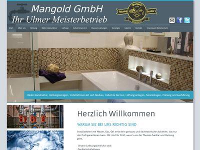 Mangold Heizung -Solar -Sanitär GmbH