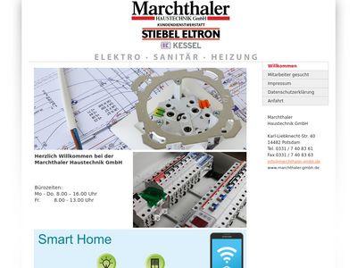 Marchthaler Haustechnik GmbH Elektro-Sanitär