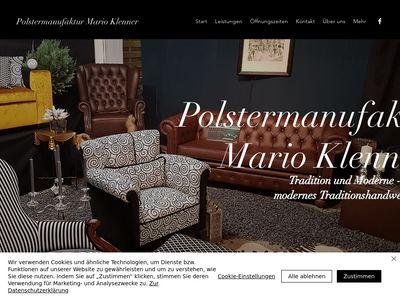 Mario Klenner Polstermanufaktur
