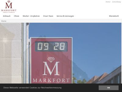 Markfort Uhren & Schmuck