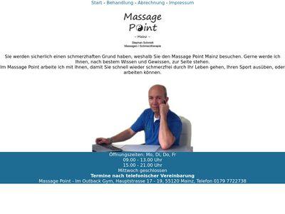Massage Point Mainz