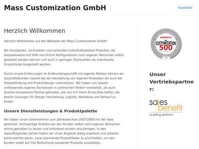 Mass Customization GmbH