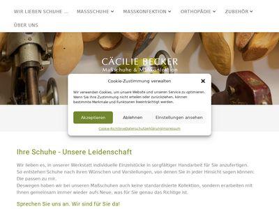 Cäcilie Becker Massschuhwerkstatt