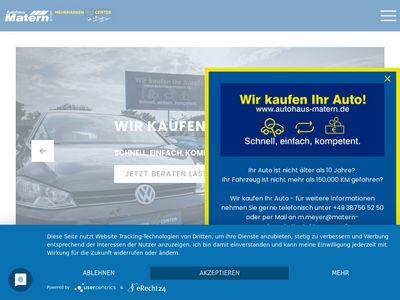 Autohaus Matern GmbH Mehrmarkencenter