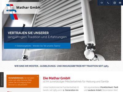 Mathar GmbH Sanitär & Heizung