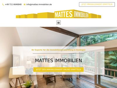 Mattes Immobilien GmbH Immobilienbüro