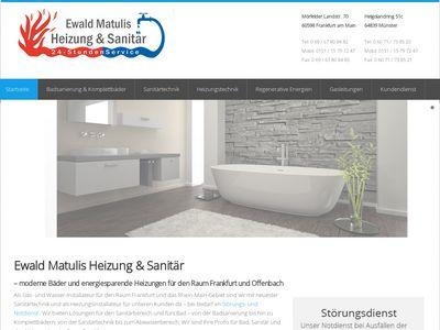 Ewald Matulis Heizung- und Sanitärservice