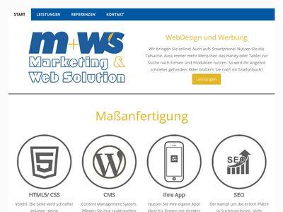 Norbert Waschke Webdesign