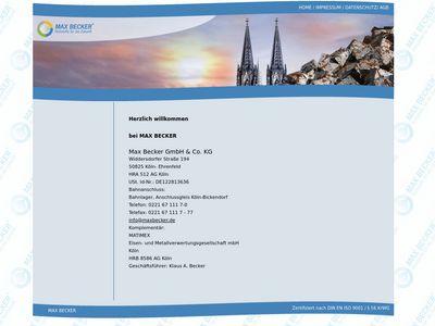 Max Becker GmbH & Co. KG