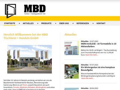 M B D Tischlerei u. Handels-GmbH