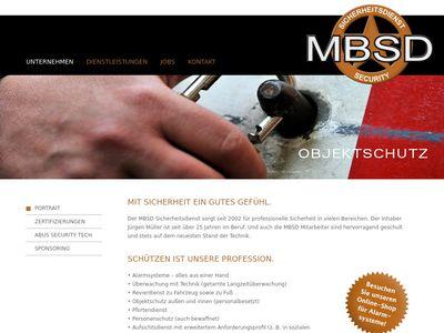Jürgen Müller Sicherheitsdienst MBSD