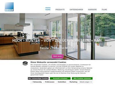 MEBAN WST GmbH Fenster