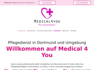 Medical 4 You Pflegedienst Dortmund