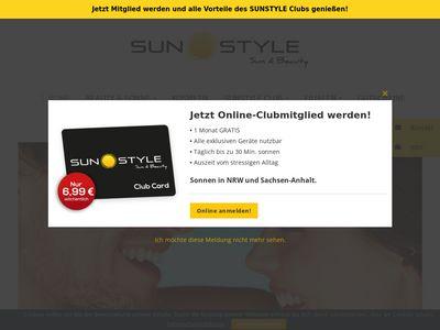Sunstyle Sonnenstudio Stendal