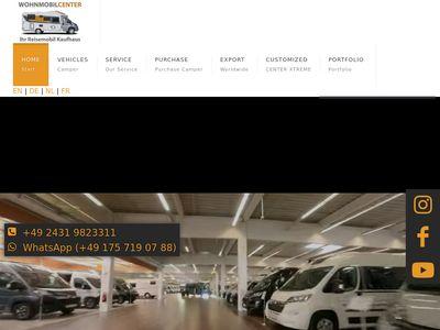 Wohnmobil Center - Ihr Reisemobil Kaufhaus