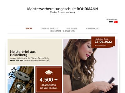 Friseur Meisterschule Rohrmann