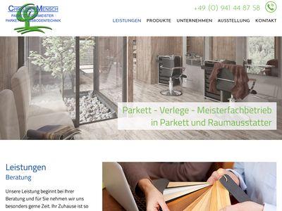 Christian Mensch - Parkettlegermeister