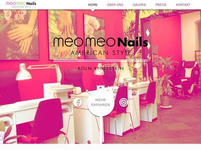 Meomeo nails - American Style