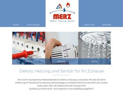 Merz GmbH Elektro- und Sanitärinstallation