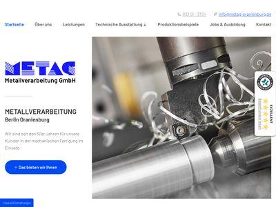 METAG - Metallverarbeitung GmbH