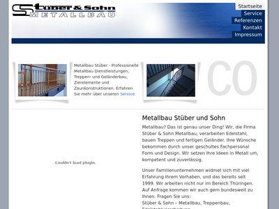 Stüber & Sohn Metallbau