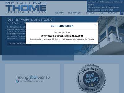 Metallbau Thome GmbH