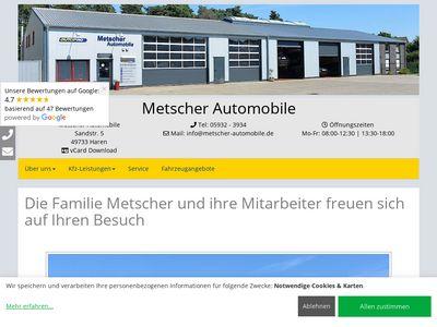 Metscher Automobile
