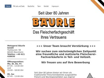 Metzgerei Bäurle GmbH