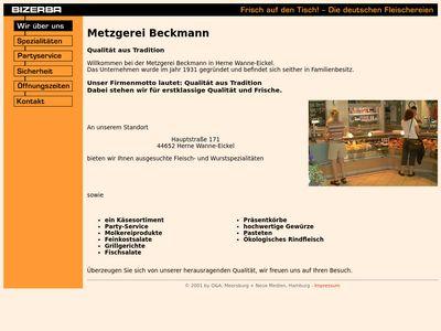 Beckmann Franz Metzgerei