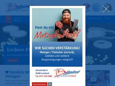 Metzgerei Bellendorf Standort Lembeck