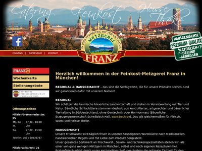 Metzgerei Franz