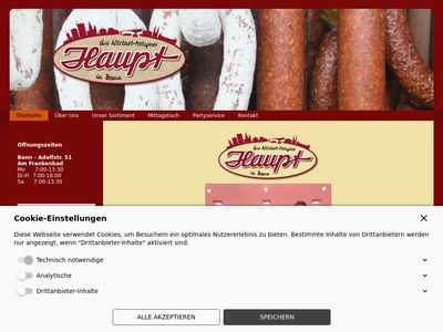 Metzgerei Uwe und Volker Haupt GbR