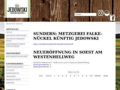 Jedowski GmbH & Co. KG Metzgerei