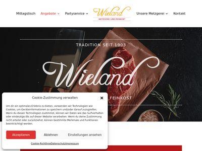 Rudolf Wieland Metzgerei und Partyservice