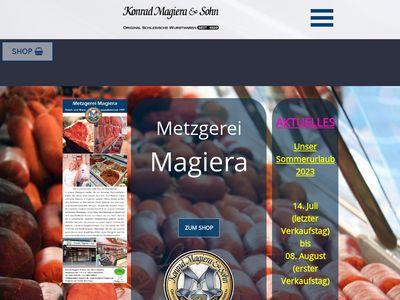 Metzgerei Konrad Magiera & Sohn