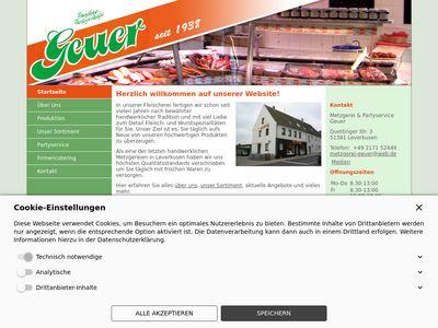 Heinz- Dieter Geuer